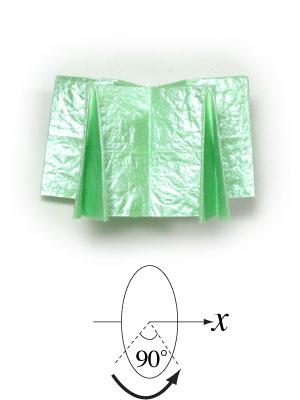 бумажная лягушка 16