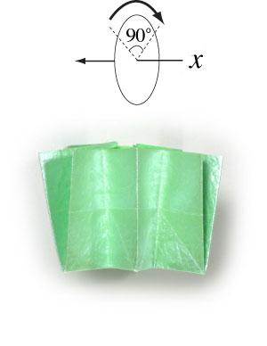бумажная лягушка 19