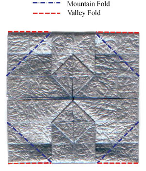 ваза оригами из бумаги 19