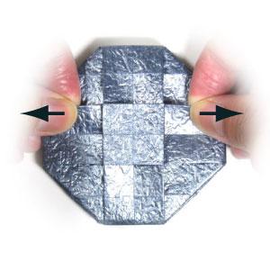 ваза оригами из бумаги 30