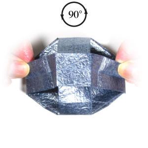 ваза оригами из бумаги 31