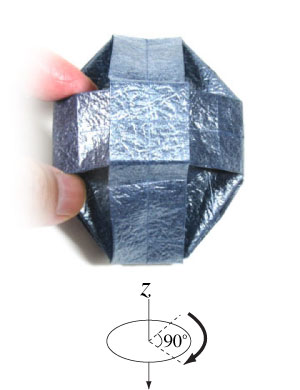 ваза оригами из бумаги 32