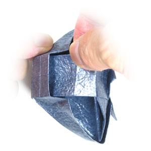 ваза оригами из бумаги 37