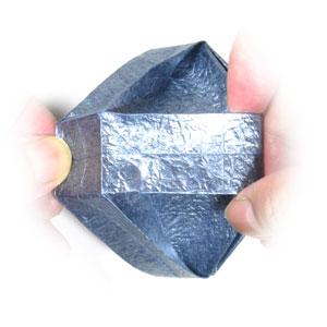 ваза оригами из бумаги 38
