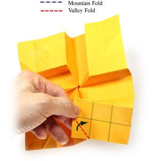 красивая роза оригами 32