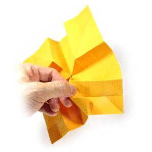 красивая роза оригами 33