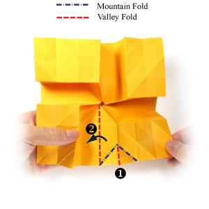 красивая роза оригами 35