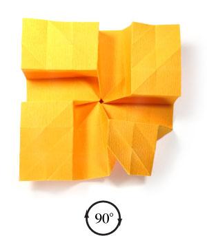 красивая роза оригами 39