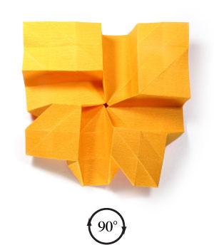 красивая роза оригами 41