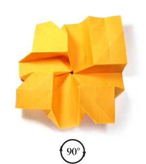 красивая роза оригами 43