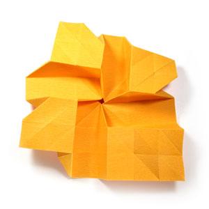 красивая роза оригами 44