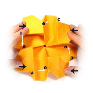 красивая роза оригами 46