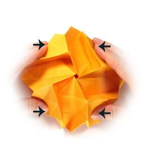 красивая роза оригами 47