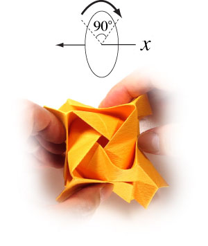 красивая роза оригами 50