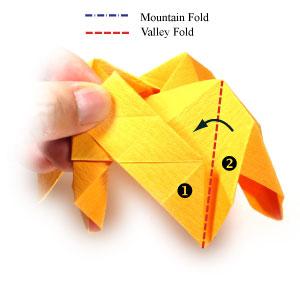 красивая роза оригами 52