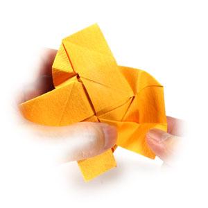 красивая роза оригами 73