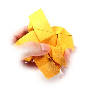 красивая роза оригами 74