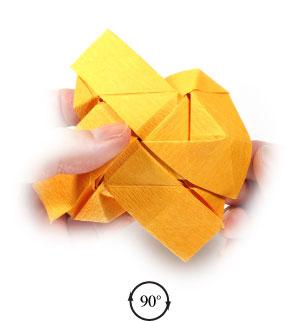 красивая роза оригами 75