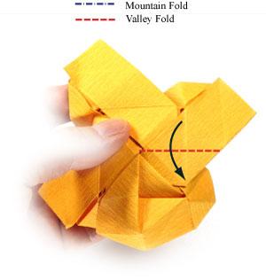 красивая роза оригами 76
