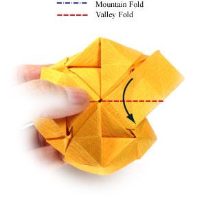 красивая роза оригами 78