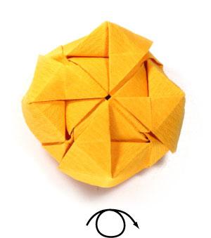 красивая роза оригами 79