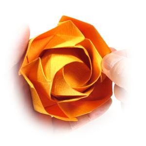 красивая роза оригами 81