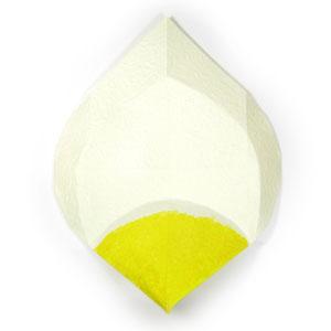 лилия из бумаги 14
