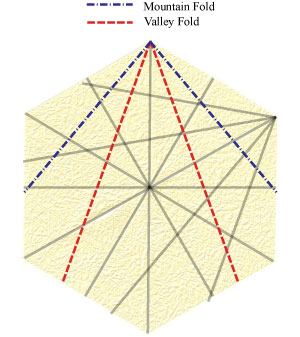 лилия оригами из бумаги 13