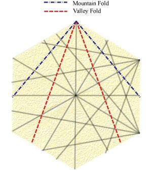 лилия оригами из бумаги 15