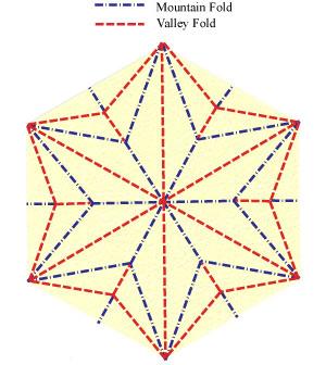 лилия оригами из бумаги 17
