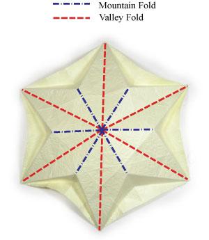 лилия оригами из бумаги 18