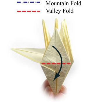 лилия оригами из бумаги 30