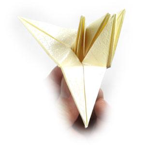 лилия оригами из бумаги 31