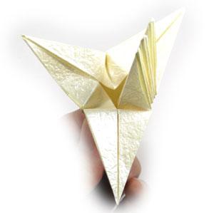 лилия оригами из бумаги 32