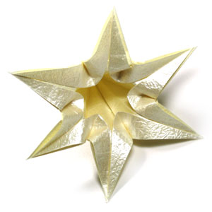 лилия оригами из бумаги 33