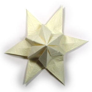 лилия оригами из бумаги 34