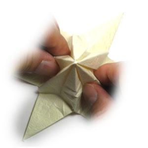 лилия оригами из бумаги 35