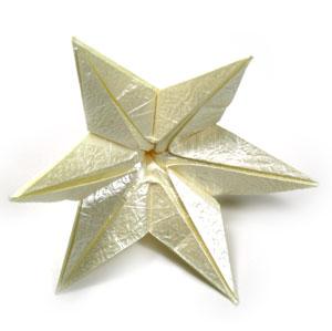 лилия оригами из бумаги 38