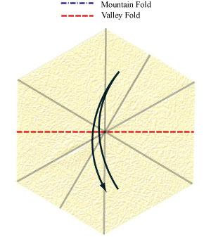 лилия оригами из бумаги 5