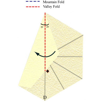 лилия оригами из бумаги 8