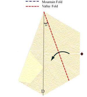 лилия оригами из бумаги 9
