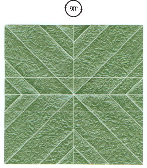 листочек оригами из бумаги 11