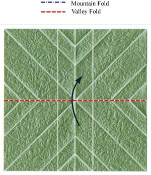 листочек оригами из бумаги 12