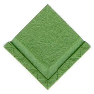 листочек оригами из бумаги 19