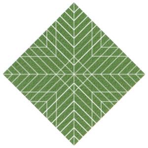 листочек оригами из бумаги 23
