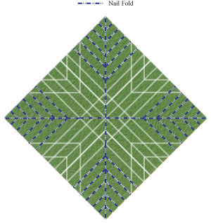листочек оригами из бумаги 24