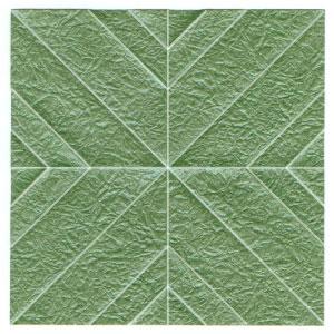 листочек оригами из бумаги 7