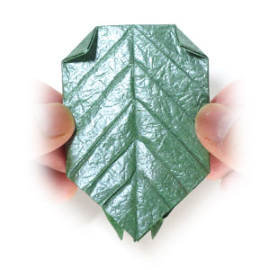 лист для деревьев оригами 9