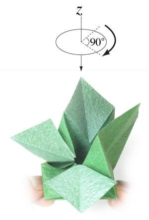 лист клевера из бумаги 15