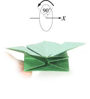 лист клевера из бумаги 19